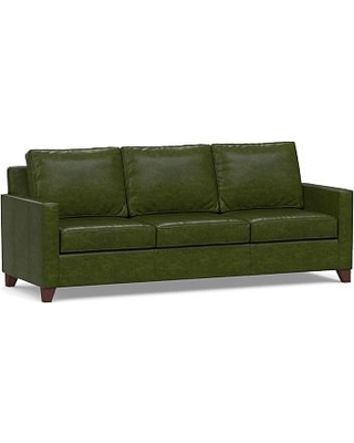c9300b1919a Cameron Square Arm Leather Grand Sofa 97