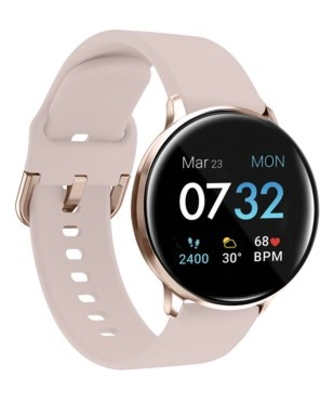 iTouch Sport 3 Smartwatch Fitness Tracker Body Temperature Heart Rate Step Counter Sleep Monitor IP68 Waterproof for Women and Men up to 30 Day Battery Touch Screen Compatible with Android & IOS (43mm)