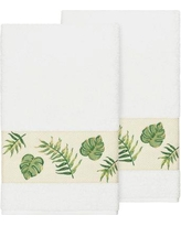 Bay Isle Home Styles Embellished Turkish Cotton Bath Towel BF111098 Color: White
