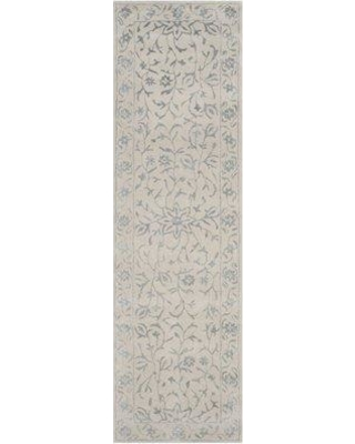 """Darby Home Co Daphne Hand-Tufted Wool Gray/Beige Area Rug DRBC4889 Rug Size: Runner 2'3"""" x 8'"""