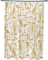 Alcott Hill Rushford Shower Curtain ALTL1505 Color: Yellow