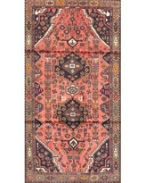 New Deal On Theda Traditional Red Black Area Rug Bloomsbury Market Rug Size Square 3