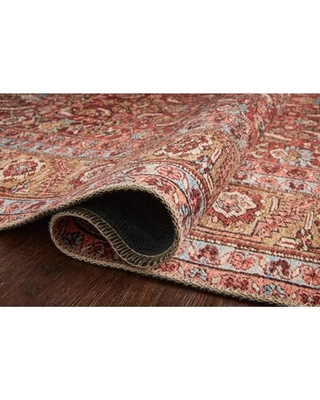 """Raul Oriental Red Area Rug Rug Size: Runner 2'6"""" x 7'6"""""""