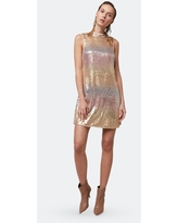 Stardust Sequin Shift Dress - L - Also in: XS, S, M