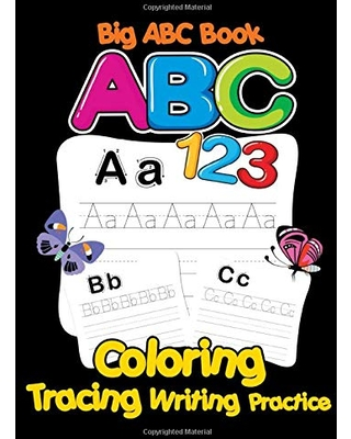 Deals For Big Abc 123 Book Tracing Writing Coloring Practice Giant Mindful Learning Educational Books For Toddlers 2 4 Years Baby Girls Boys Preschool And Numbers 123 With Animals Picture