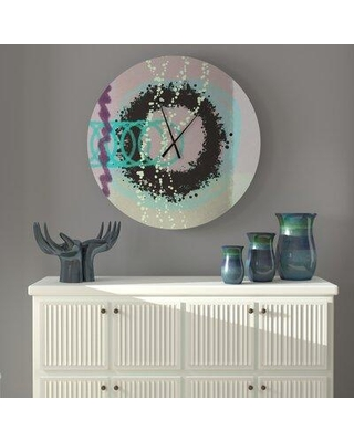 East Urban Home Oversized Euan Wall Clock X112942449 Size: Small