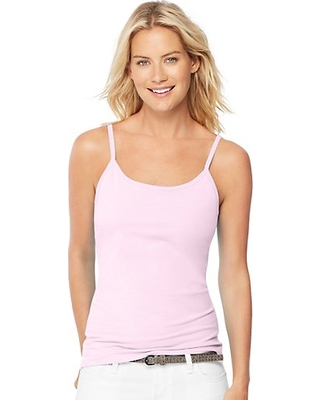 6bb1276051 Spectacular Sales for Hanes Women s Stretch Cotton Cami with Built ...
