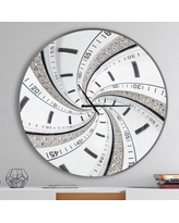 Don T Miss These Deals On Swirled Time Vortex Contemporary Wall Clock East Urban Home Size Medium