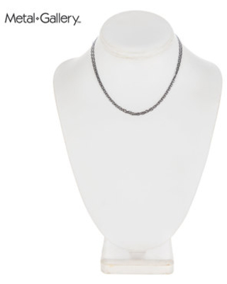 Fine Oval Chain Necklace - 30""