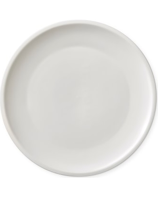 Le Creuset Matte Coupe Dinner Plates, Set of 4, White