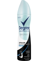 Degree UltraClear Dry Spray Black + White Pure Clean Antiperspirant Deodorant - 3.8oz, Clear
