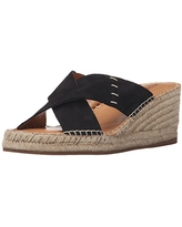 Kelsi Dagger Brooklyn Women's Irma Espadrille Wedge Sandal, Black, 9 M US