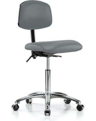 Perch Chairs & Stools Task Chair LBLNC2 Upholstery Color: Cinder
