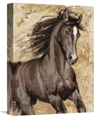 """Global Gallery 'Maestoso' by Luigi Florio Painting Print on Wrapped Canvas GCS-459233- Size: 16"""" H x 12"""" W x 1.5"""" D"""