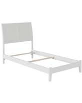 Spectacular Deals On Harriet Bee Quitaque Panel Bed X112556915 Bed Frame Color Walnut Size Twin
