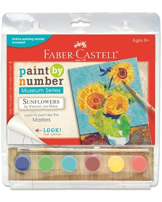Faber-Castell® Paint By Number Museum Series Kit, Sunflowers   Michaels®