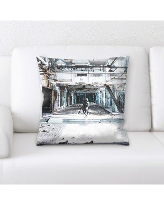 Latitude Run Guthrie Old and Abandoned Throw Pillow BI137224