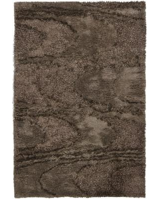 "Orren Ellis Isidore Shag Brown Area Rug ORNE5712 Rug Size: Rectangle 7'9"" x 10'6"""
