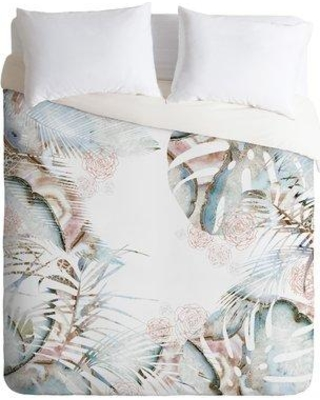 East Urban Home Honey Its Nap Time Duvet Cover ESUI0871 Size: Queen