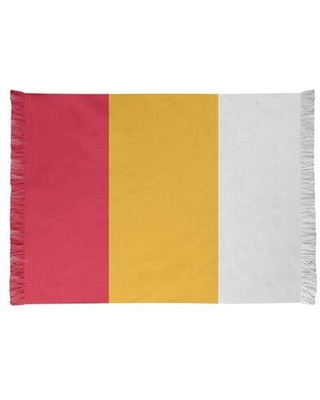 East Urban Home Kansas City Football Red/Yellow Area Rug FCJK0548 Backing: Yes
