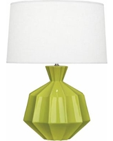 Robert Abbey Orion Apple Green Ceramic Table Lamp