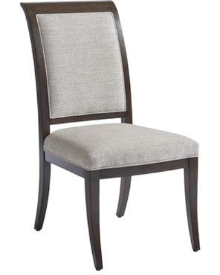 Barclay Butera Brentwood Upholstered Dining Chair 01-0915-880-01 / 01-0915-880-40 Upholstery Color: Atwood Gray
