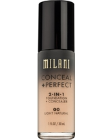 Milani Conceal + Perfect 2-in-1 Foundation 00 Light Natural 1floz