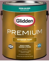 Check Out Deals On Glidden Premium 1 Gal Hdgr12u Hint Of Mauve Semi Gloss Latex Exterior Paint