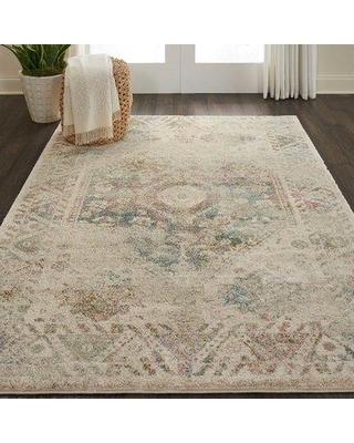 """Bungalow Rose Bellock Moroccan Beige Area Rug BF161923 Rug Size: Rectangle 5'3"""" x 7'3"""""""