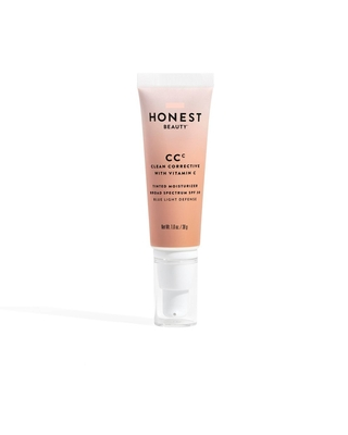 Honest Beauty Clean Corrective Tinted Moisturizer with Vitamin C and Blue Light Defense - Light - SPF 30 - 1.0oz