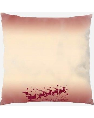 Spectacular Deals On The Holiday Aisle Saxis Christmas Indoor Outdoor Canvas Throw Pillow Polyester Polyfill In Brown Size 18x18 Wayfair