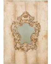 Manor Luxe Vienna Baroque Board and Decorative Wall Mirror ML15856