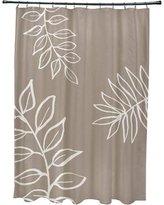 Charlton Home Bookman Shower Curtain CHLH5924 Color: Beige/Ivory
