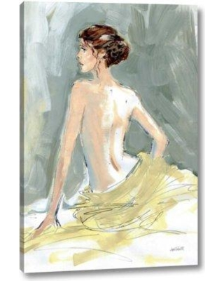 """Winston Porter 'Nude II' by Anne Tavoletti Giclee Art Print on Wrapped Canvas BF099438 Size: 24"""" H x 16"""" W x 1.5"""" D"""