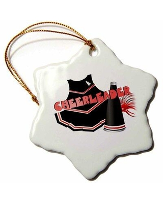 Find Big Savings On The Holiday Aisle Cheerleader Holiday Shaped Ornament Ceramic Porcelain In Black Size 3 H X 3 W Wayfair 1cffd2441f164e9a84341cfda76d8426
