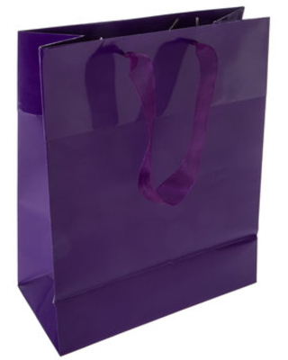 Purple Gift Bags - Large