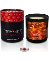 Daniella's Candles Sensual Amber Jewelry Scented Jar Candle HC100106-