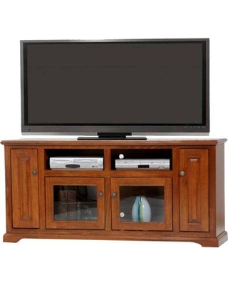 """Alcott Hill Spoffo TV Stand for TVs up to 65"""" W001694522 Color: European Red"""
