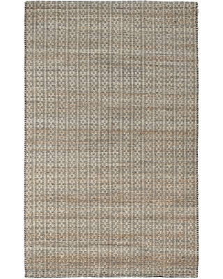 Natural and Black Jute Blend Indus Area Rug by World Market
