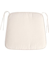 PB Classic Dining Chair Cushion, Small, Twill Ivory