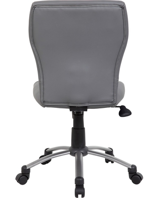 Tiffany CaressoftPlus Chair Gray - Boss Office Products