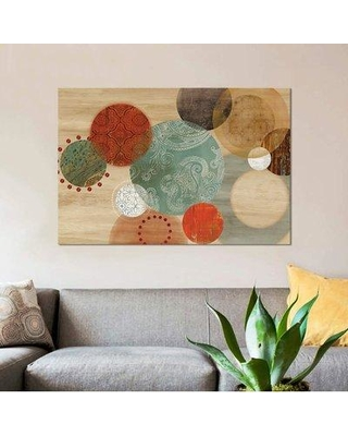 """East Urban Home 'Assent' Graphic Art Print on Canvas ETRB6396 Size: 40"""" H x 60"""" W x 1.5"""" D"""