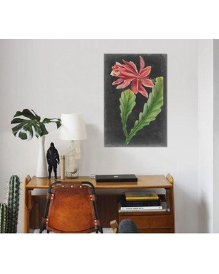 "East Urban Home 'Dramatic Tropicals I' Graphic Art Print on Wrapped Canvas ESUH7802 Size: 40"" H x 26"" W x 1.5"" D"