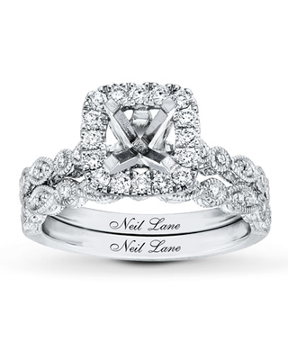 2e427d824 Neil Lane Bridal Setting 1/2 ct tw Diamonds 14K White Gold. Additional  Images · $1999.99 · at Jared The Galleria of Jewelry