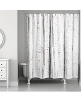 Foundry Select Bain Birch Trees Shower Curtain FNDS1967