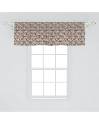 """Forest 54"""" Window Valance East Urban Home"""