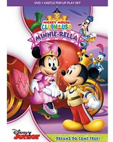 Mickey Mouse Clubhouse Minnie-Rella DVD + Castle Pop-Up Play Set Official shopDisney