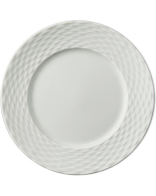 Pillivuyt Basketweave Bread & Butter Plates, Set of 4