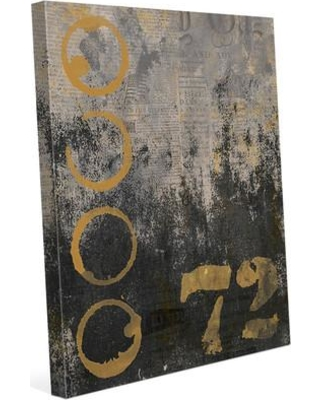 "Click Wall Art 'Urban 72' Graphic Art on Wrapped Canvas IND0000913CAN Size: 14"" H x 11"" W x 1.5"" D"