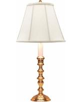 """Pomfret Polished Brass 20"""" High Accent Table Lamp"""